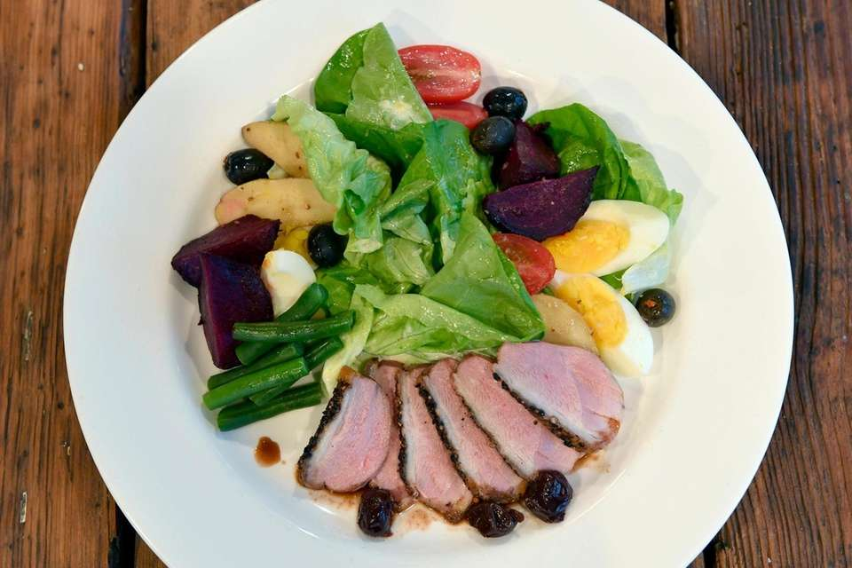 This clever riff on a Nicoise salad that