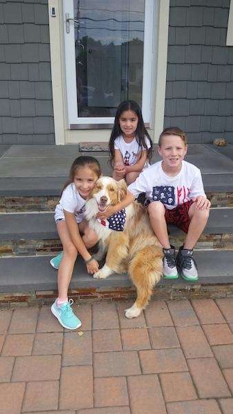 Fourth of July Family Fun - Vianne, Bliss,