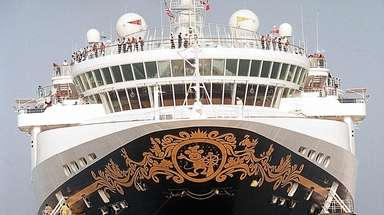 The Disney Wonder will set sail from New
