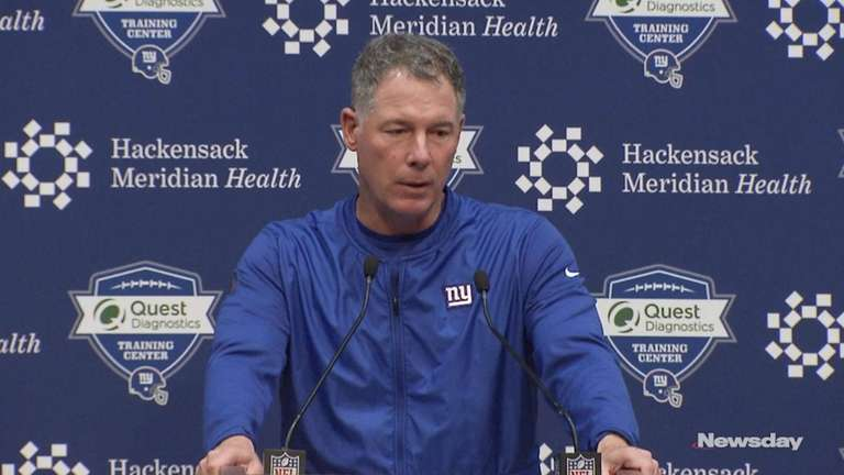 On Friday, Giants coach Pat Shurmur gave support