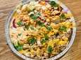 Salt-and-pepper chicken to go at NY Chicken and