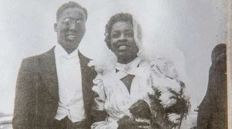Alonzo Hilton Shockley Jr. and his wife, Novella
