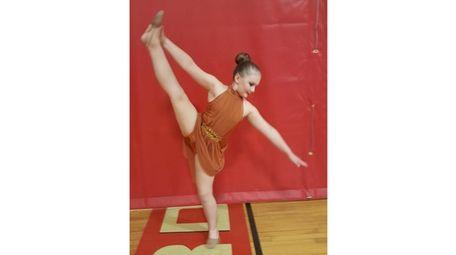 Kidsday reporter Jackie Bousquet Smith in her dance