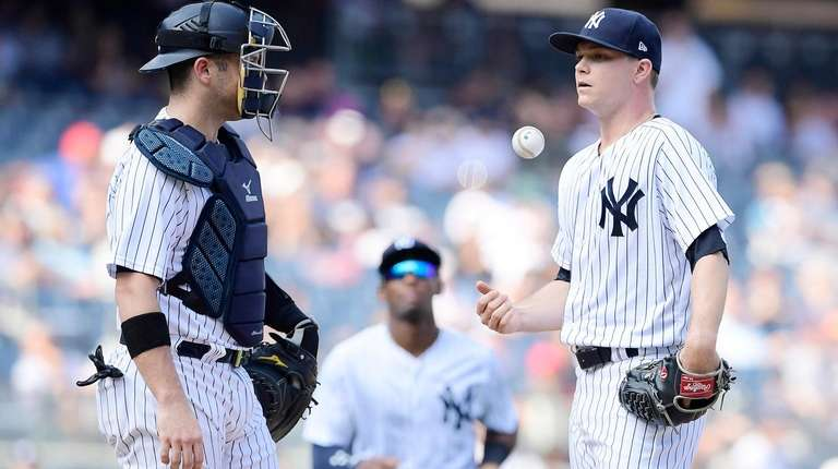 Sonny Gray #55 of the New York Yankees