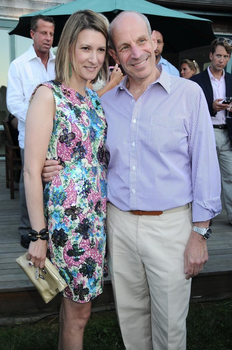 Lizzie Tisch and Jonathan Tisch at the Red