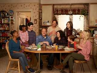 """ABC's cast of """"The Conners,"""" which premiered Tuesday"""