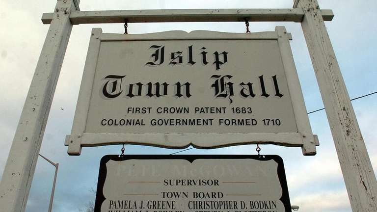 Islip Town Hall is facing questions about the