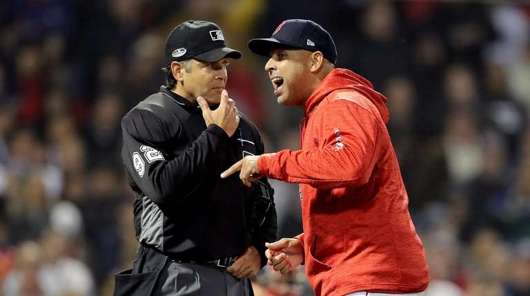 Somehow the Red Sox don't look quite as good as they did in the ALDS