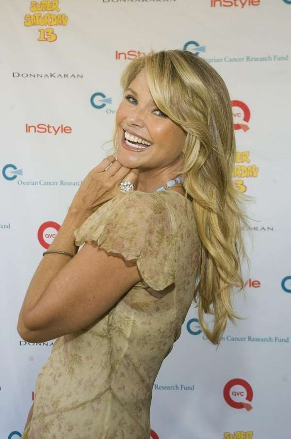 Supermodel Christie Brinkley
