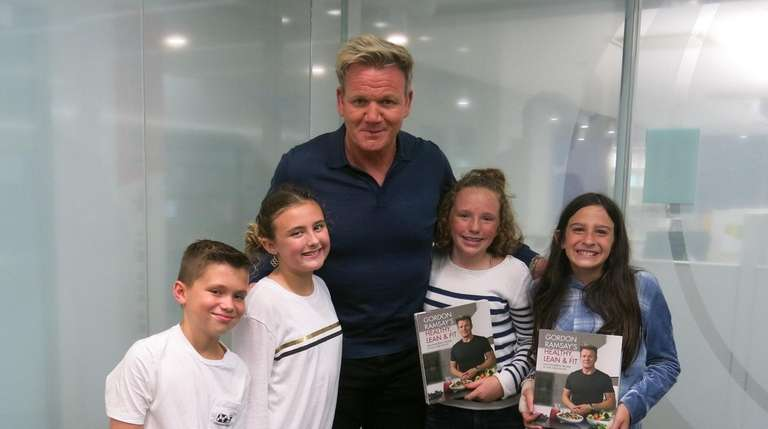 The master chef shares his secrets newsday chef author and tv personality gordon ramsay with m4hsunfo