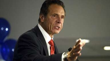 Gov. Andrew M. Cuomo, seen in Manhattan in