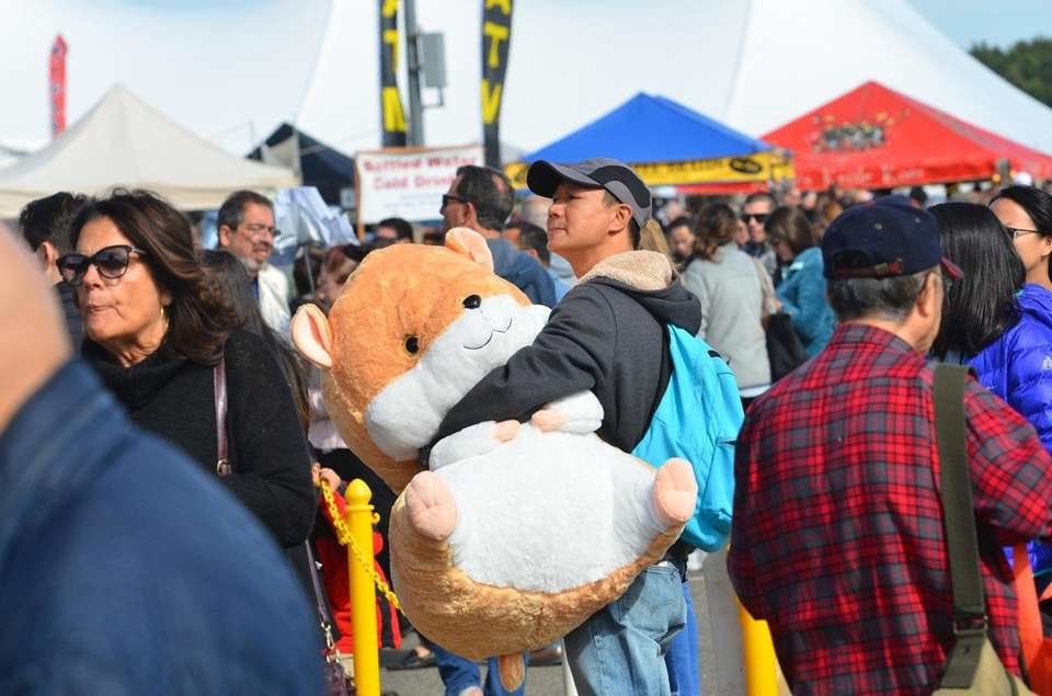 People enjoy the 35th Annual Oyster Festival on