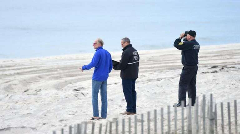 Search crews on Sunday said they have focused