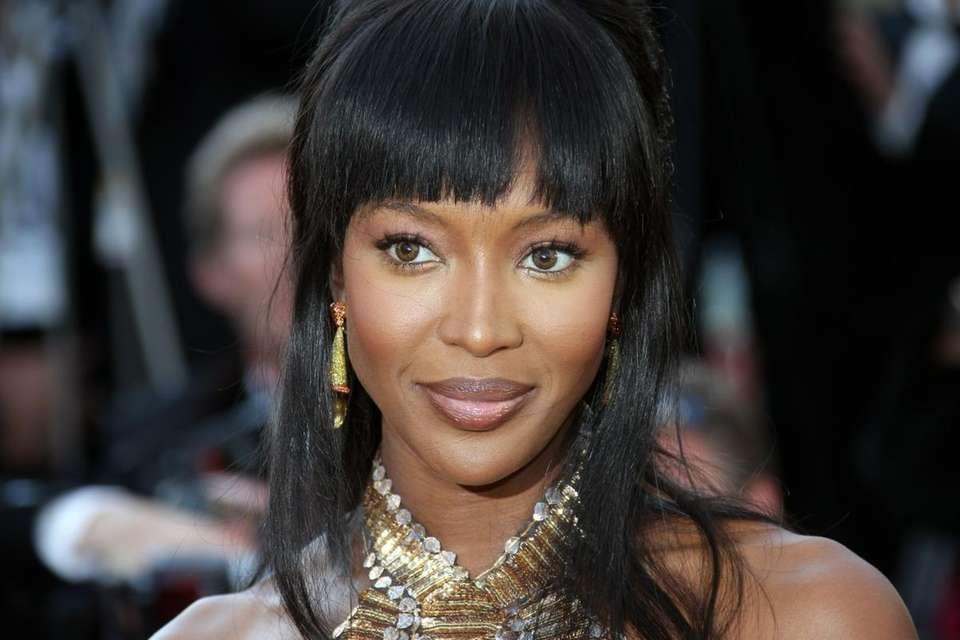 Naomi Campbell arrives for the screening of