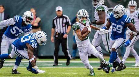 New York Jets wide receiver Robby Anderson (11)