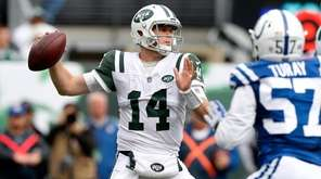 Sam Darnold put up big numbers against the