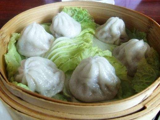 Soup dumplings at Aki Asian Fusion, East Northport