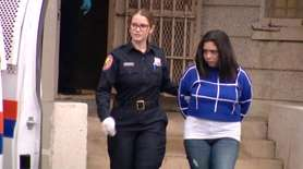 Molly Dutrow, 24, of Syosset, was charged with