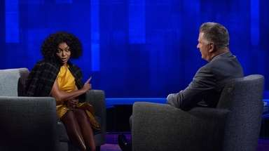 "Alec Baldwin interviewed ""Empire"" star Taraji P. Henson"