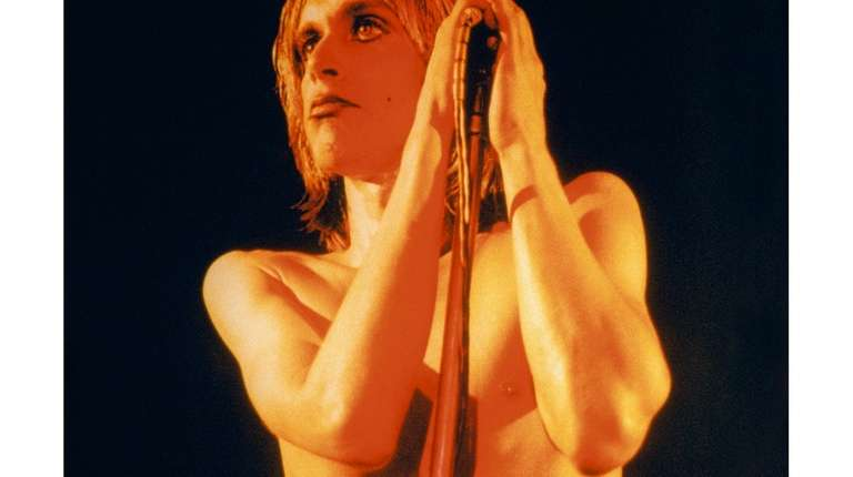 Mick Rock photographed Iggy Pop for his