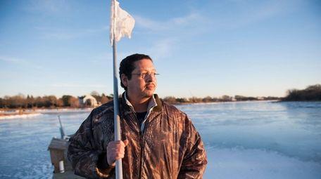 Former Shinnecock Indian tribal leader David Taobi Silva