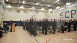 Suffolk County officials swore in 119 recruits duringa