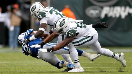 Jets' Jamal Adams and Darron Lee combine to