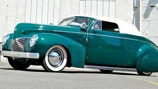1940 Mercury Custom Coupe Set For Auction At