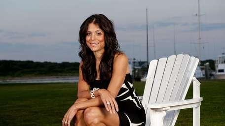 Bethenny Frankel, the star of the Real Housewives