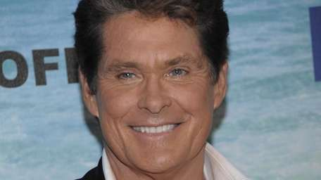 Actor and roastee David Hasselhoff arrives at the