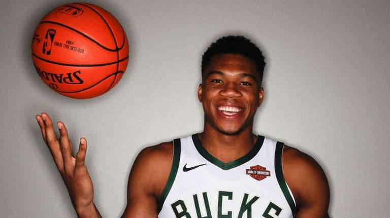 Milwaukee Bucks' Giannis Antetokounmpo.
