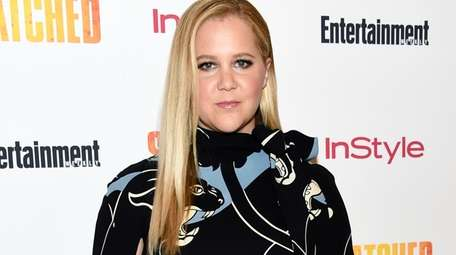 "Amy Schumer at a 2017 screening of ""Snatched"""