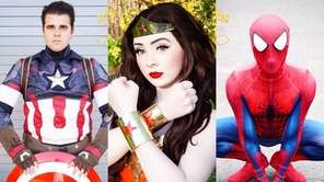 Superheroes and princesses will brunch with children at
