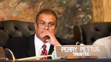 Trustee Perry Pettus was also indicted in July,