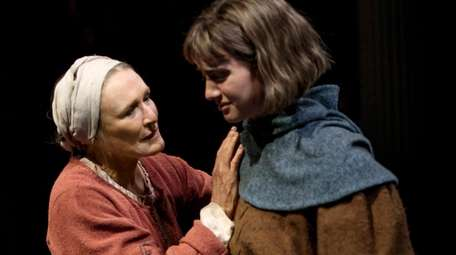 """Glenn Close and Grace Van Patten in """"Mother"""