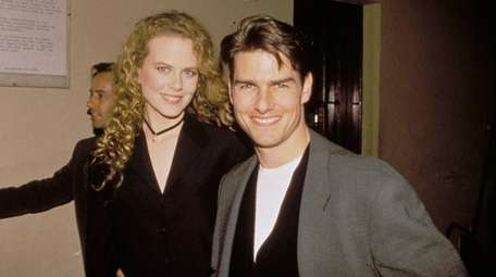 Nicole Kidman and Tom Cruise in Sydney in