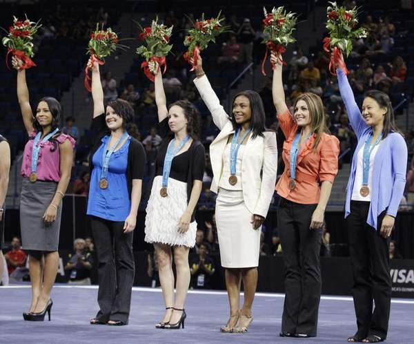 United States gymnasts from the 2000 Sydney Olympics