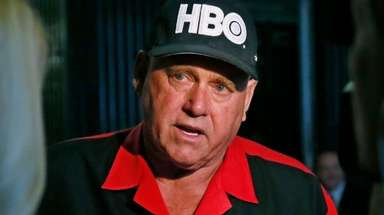 Dennis Hof, seen on June 13, 2016.