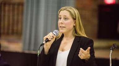 Second Congressional District race candidate Liuba Grechen Shirley,