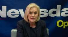 Democratic Sen. Kristen Gillibrand sits down with the
