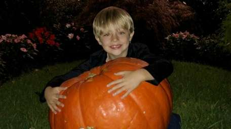 Kevin Beckman's pumpkin was returned to his home