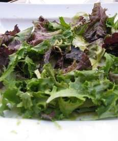 Salad at Brasserie Cassis in Plainview. Newsday photo