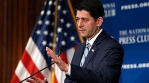 House Speaker Paul Ryan of Wis., delivers an