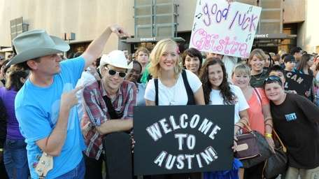 Thousands of people attend the Austin, Texas, auditions