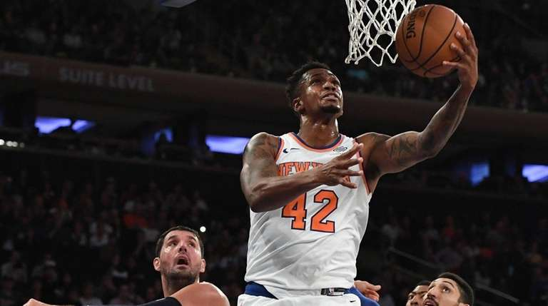Meet The 2018 19 New York Knicks Newsday