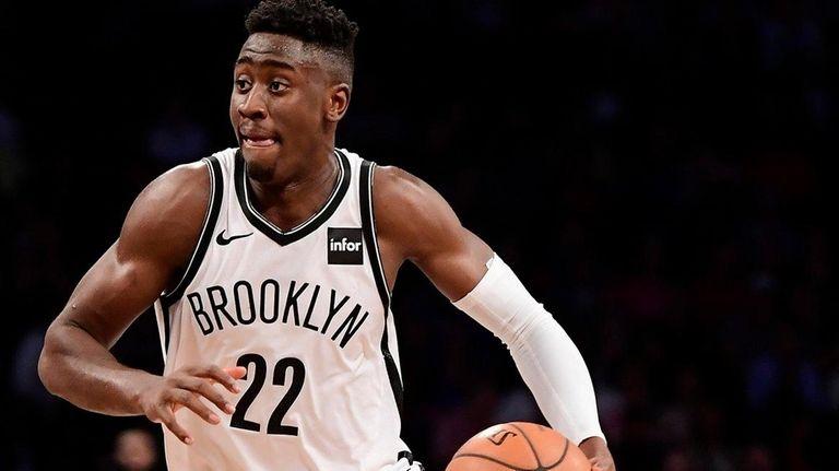 Brooklyn Nets guard Caris LeVert on Oct. 3,