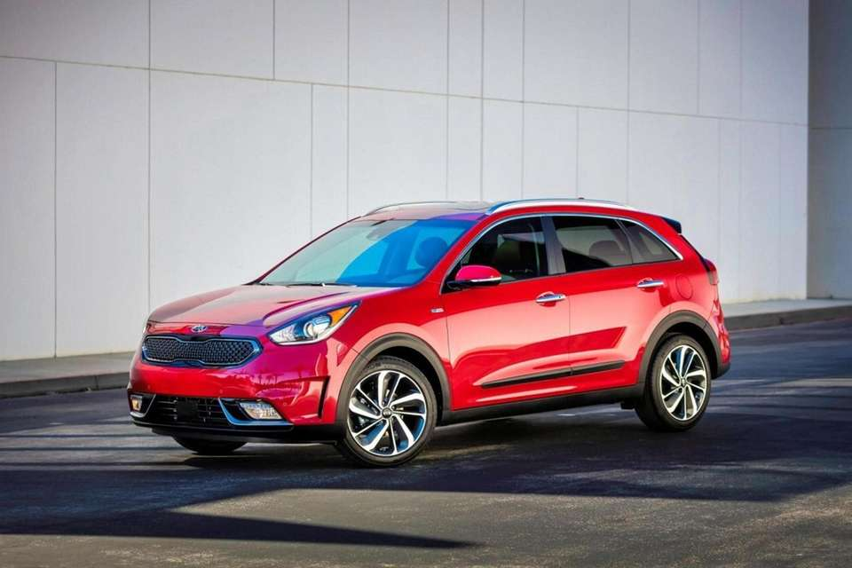 2017 Kia Niro : New compact gas-electric hybrid