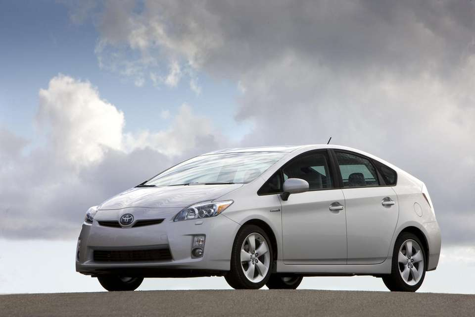 A 2010 Toyota Prius is shown in this