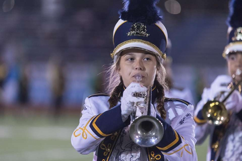 West Babylon High School performs at the 56th