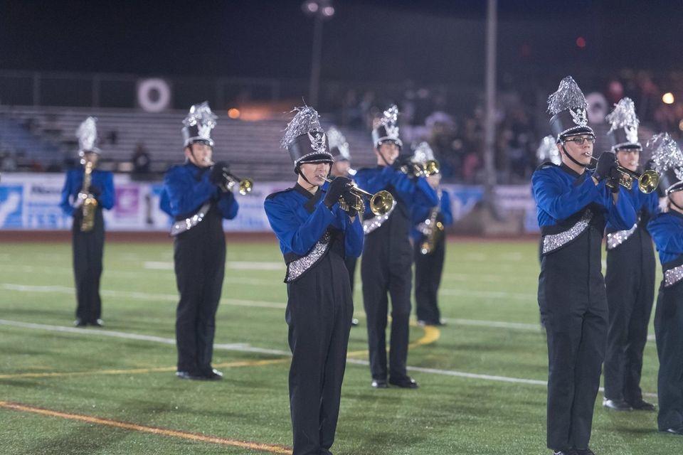 Elwood John Glenn High School performs at the